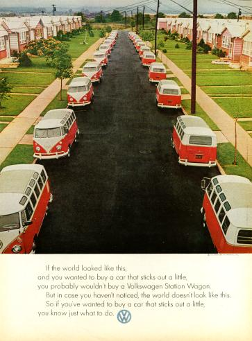 This was the first VW Ad I ever saw