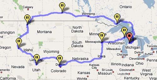 October 2007 Road Trip